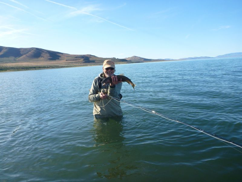 John V. at Pyramid Lake